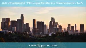 Downtown Los Angeles Points of Interest