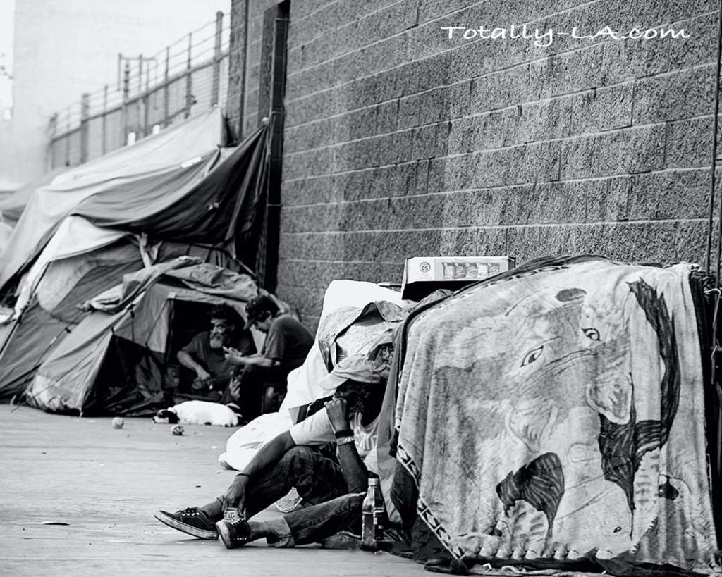 Homeless in Los Angeles