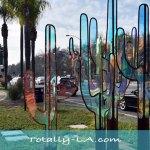 Cacti Public Art Sculpture in WeHo