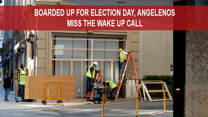 Election Day Los Angeles
