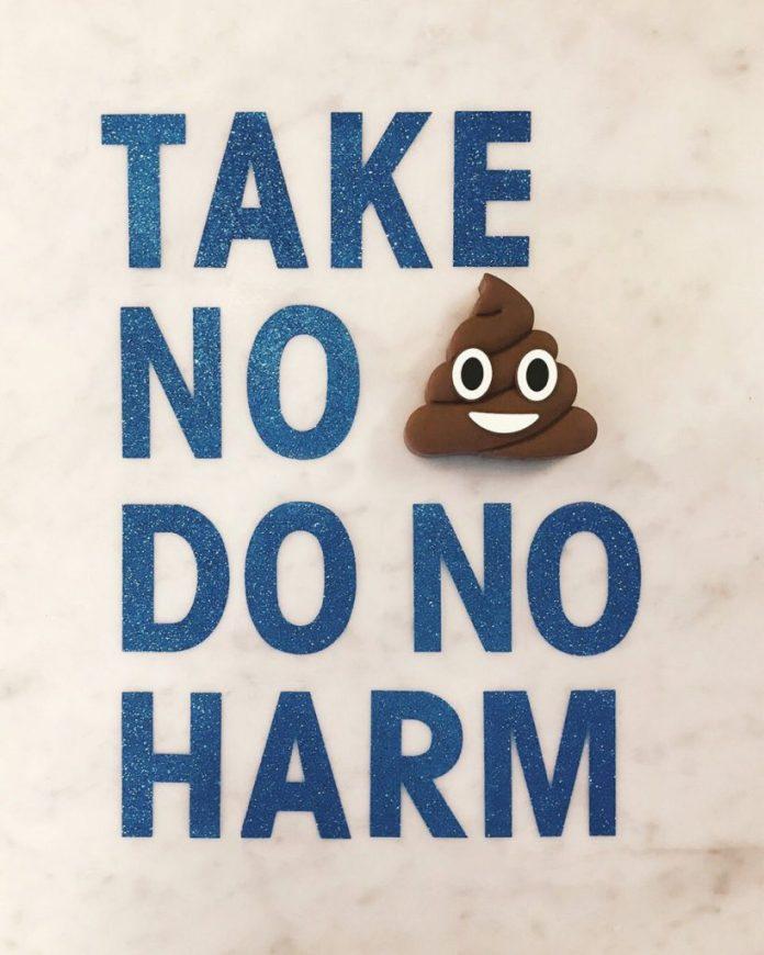 Take no sh*t do no harm