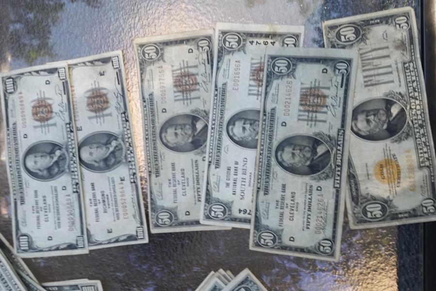 rare dollar bills