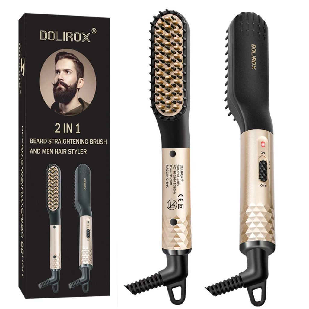 Beard Straightener for men For christmas stocking filler