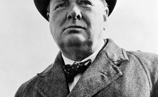 Winston Churchill Prime Minister Of Great Britain During