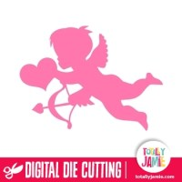 Cupid 1 - TotallyJamie: SVG Cut Files, Graphic Sets & Clip ...