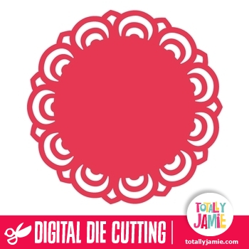 Doily Round 19 TotallyJamie SVG Cut Files Graphic Sets