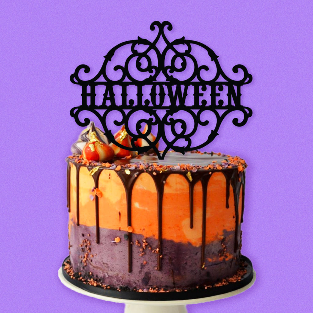 Halloween Cake Topper TotallyJamie SVG Cut Files