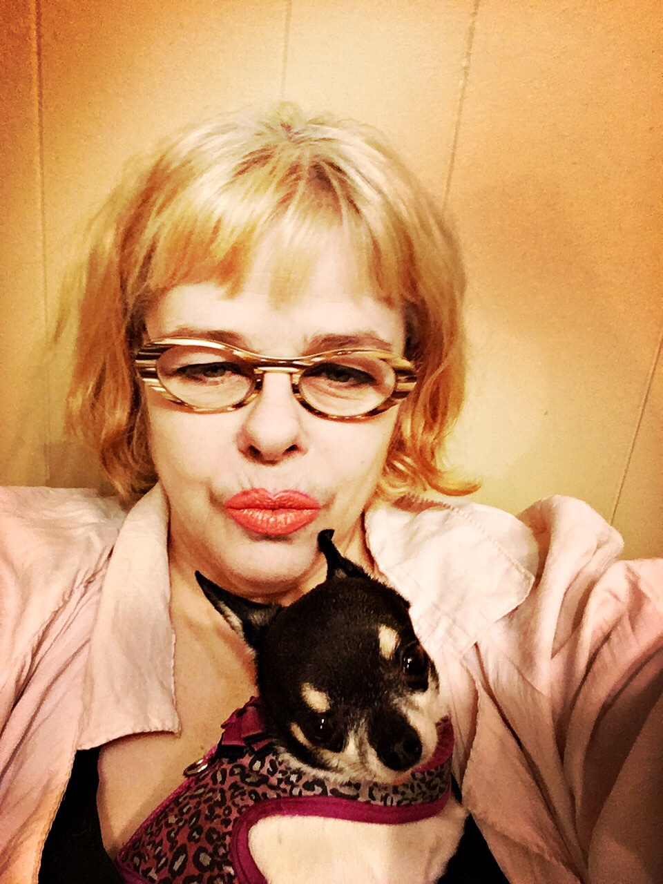 Puppy and me
