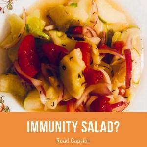 Immunity Salad Recipe