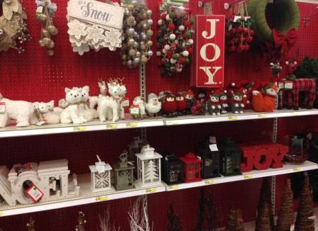 A holiday isle at target