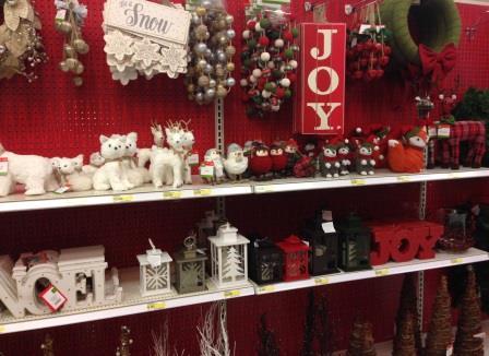A holiday isle at target