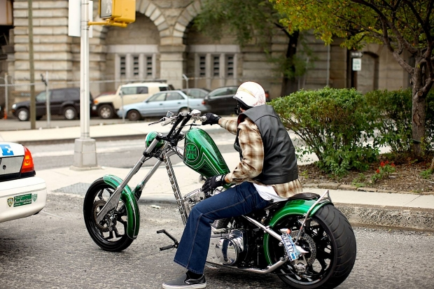 The Builder And His Bike Jesse James Totally Rad Choppers