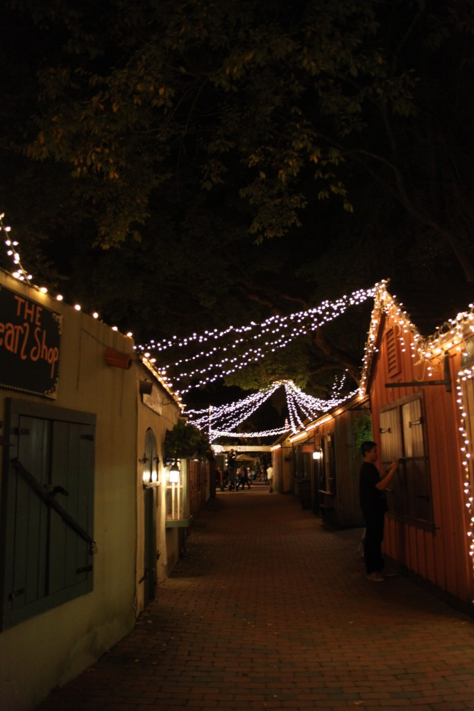 Take a romantic stroll on St. Augustine's streets in the historic district. Photo by Renee Unsworth
