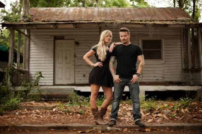 The Rubies, a local music duo (Savannah & Lucio Rubino) will be on stage this weekend during the 21st annual Gamble Rogers Music Festival at the Colonial Quarter. See details below. Photo by Zach Thomas, www.ztphoto.com