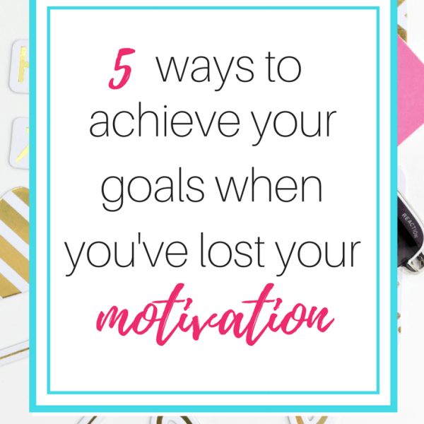 5 Ways to Stay Motivated When You're Stuck in a Rut