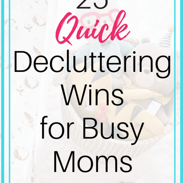 25 Things You Can Declutter Quickly (in 5 minutes or less)