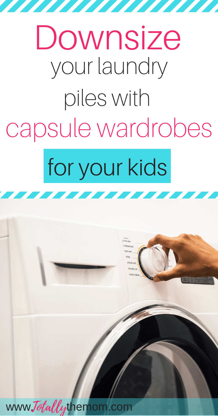 Downsize your laundry piles with capsule wardrobes for your kids