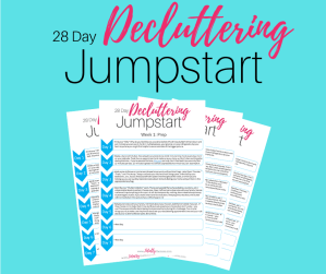 28 Day Decluttering Jumpstart