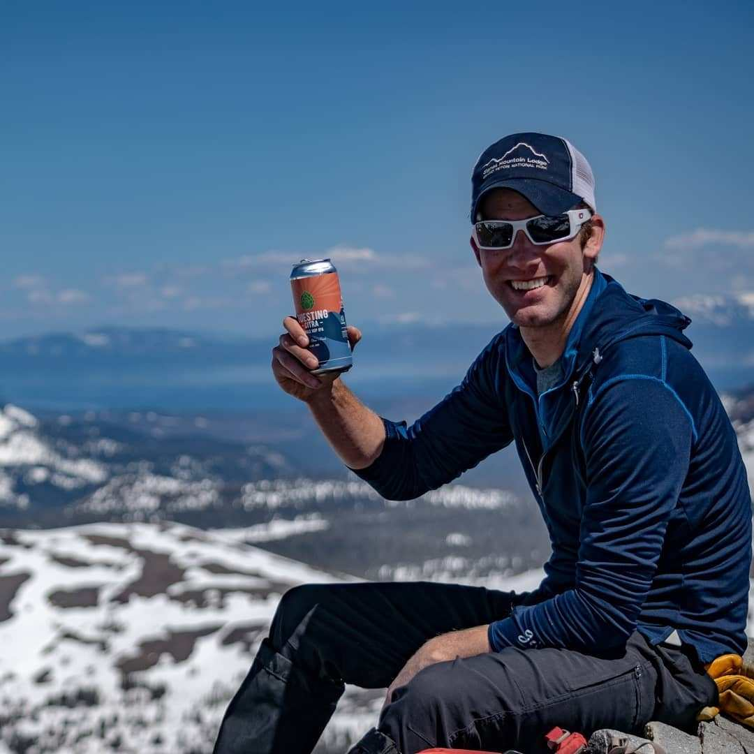 Good friends climb a mountain with you. Great friends bring beer to share!