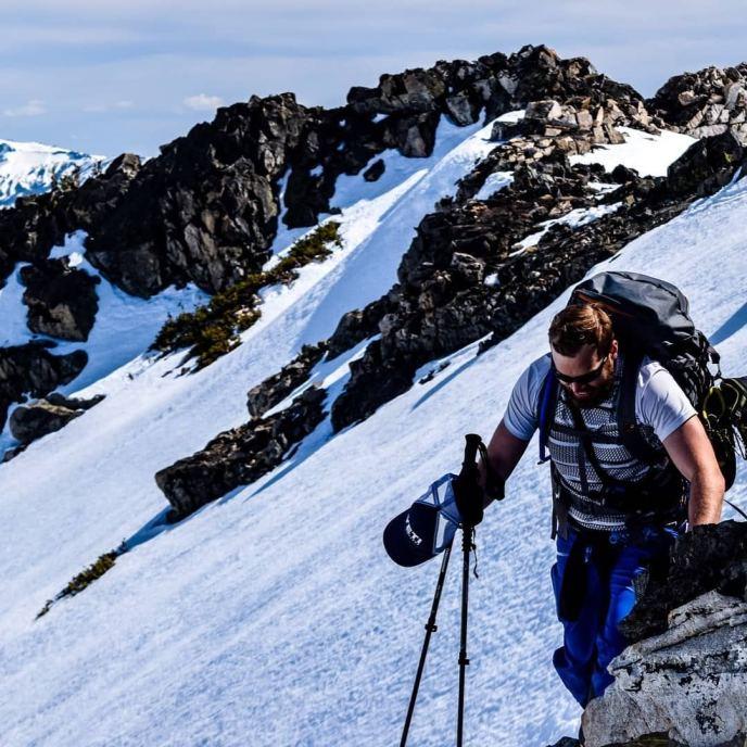"I heard someone grumble ""I hate billygoating,"" but it seems like we all had a great time climbing Jacks Peak last week!"