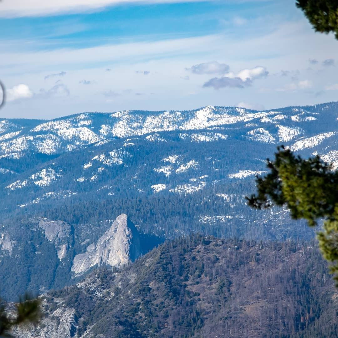 From this perspective you would have no idea that Moro Rock is one of the most accessible granite domes in the Sierra Nevada, nor would you guess that the forest behind is home to the world's largest trees!