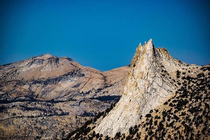 A crisp summer morning at Cathedral Peak.