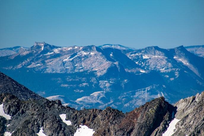 Tressider and Tenaya Peaks.