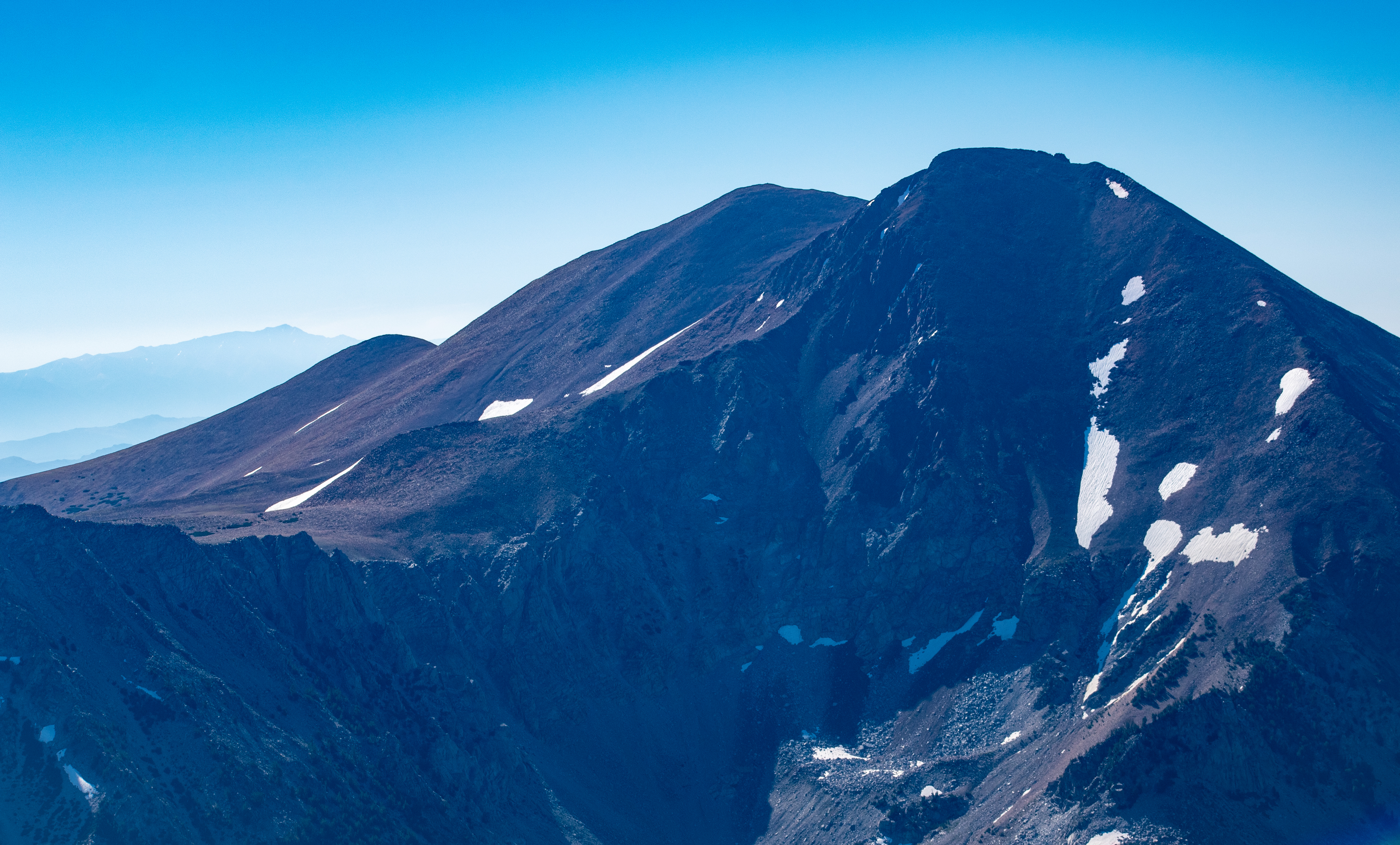 Dunderberg Peak.