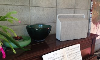 Vifa 'Copenhagen' Home music system in Pebble Grey at Totally Wired