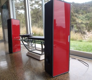 Sonus faber 'Chemeleon' speakers @totallywirednz