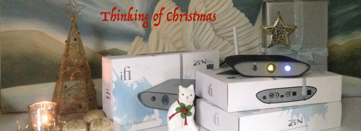 Thinking Christmas @totallywirednz with ifi Zen Blue
