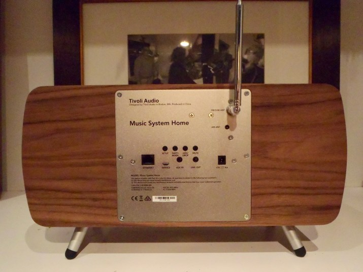 Tivoli Music System Home connections @totallywired.nz