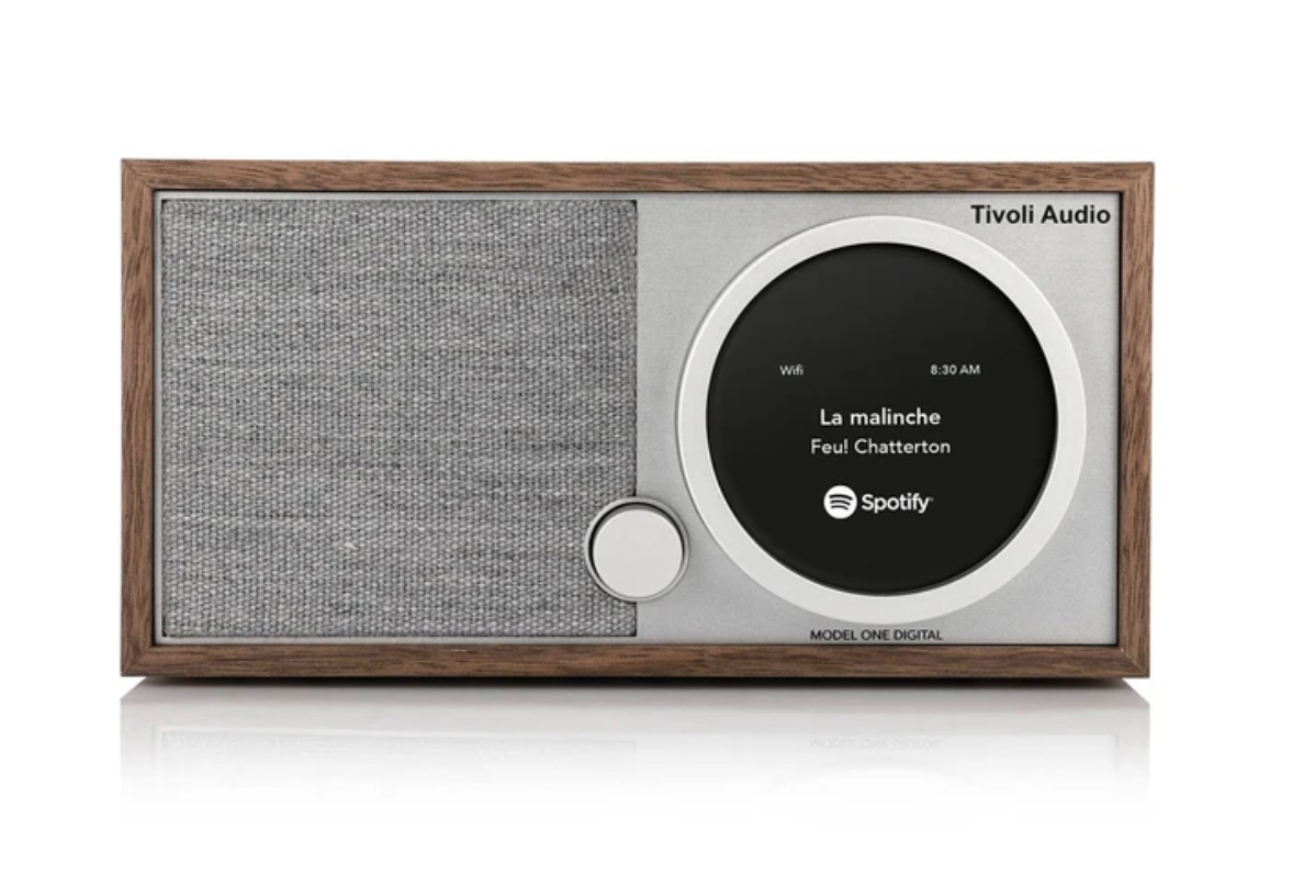 Tivoli Model One Digital in walnut @totallywired.nz