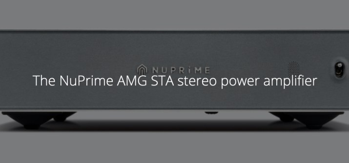 NuPrime AMG STA stereo power amplifier @totallywired.nz