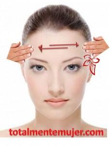 como aplicar masaje facial