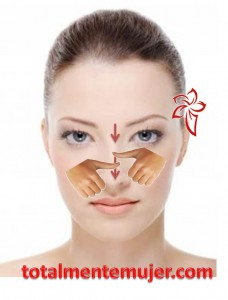 como eliminar arrugas con masajes faciales