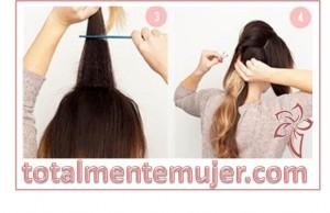 como peinar tu cabello largo