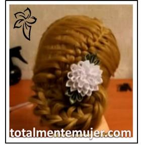 peinado de novia fresco