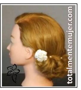 peinado de novia sencillo
