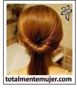 peinado facil cabello largo