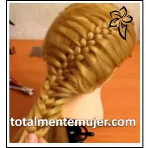 peinado para novia elegante y fresco