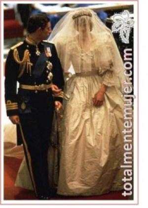vestido de novia de lady di