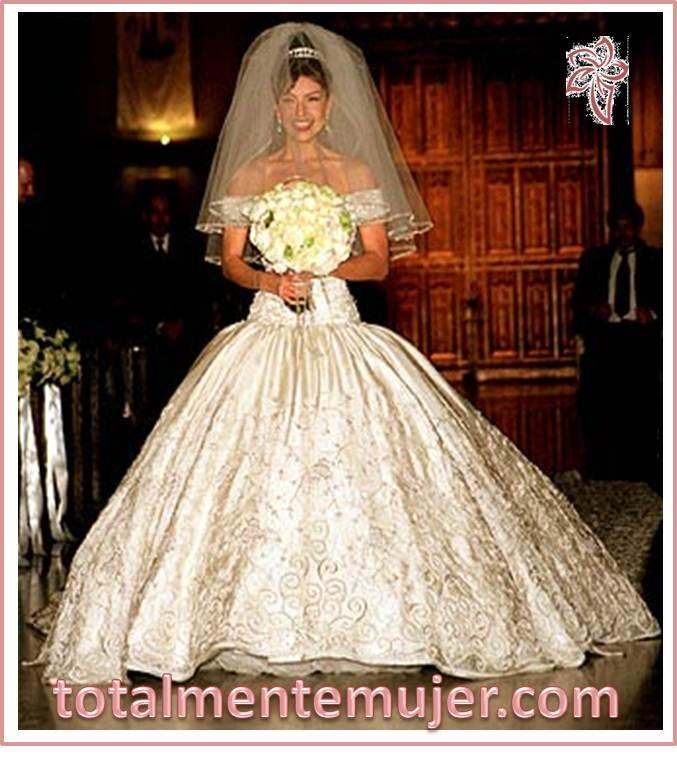 Vestido de novia de thalia sodi