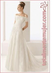 vestido de novia estilo princesa elegante y fresco