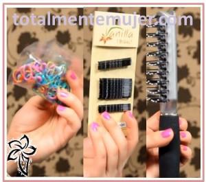 materiales para realizar peinado facil