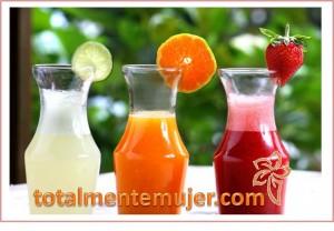 jugos saludables nutritivos