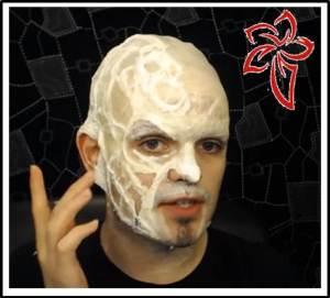 makeup freddy Krueger halloween