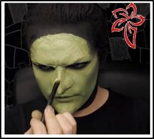 disfraz dee halloween bruja de oz