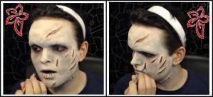 disfraz de halloween el exorcista