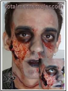 disfra de zombie para halloween